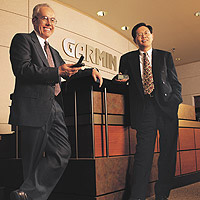 Gary Burrell and Dr. Min Kao