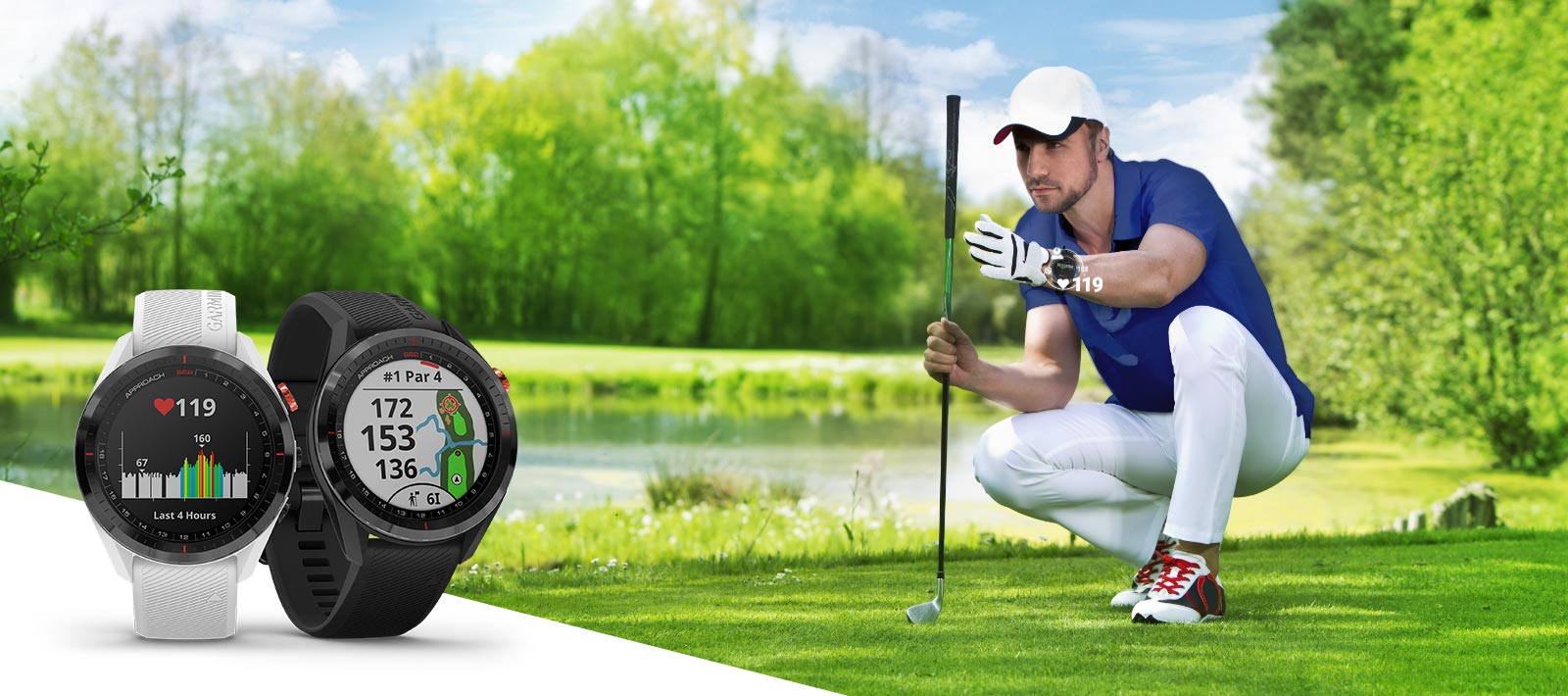 Approach S62 - Premium GPS Golf Watch