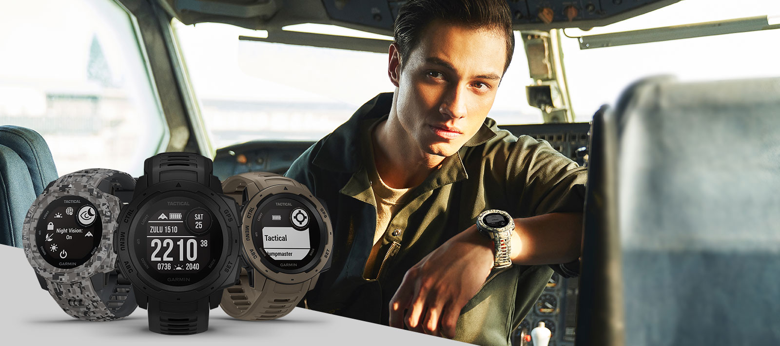 Instinct tactical - Rugged, Outdoor GPS watch