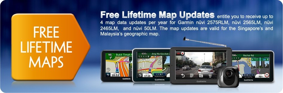 Garmin Map Update >> Garmin® announces FREE lifetime map update and its new ...