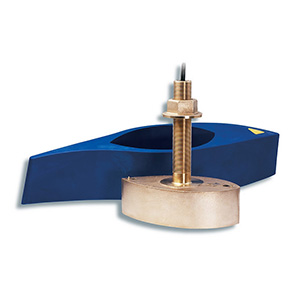 Bronze Thru-hull Mount Transducer with Depth & Temperature (8-pin) - Airmar B260