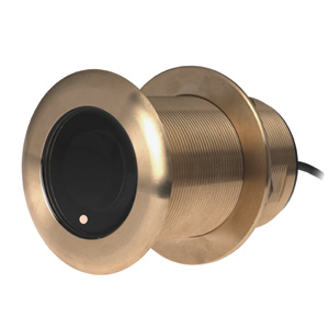 Bronze Thru-Hull Mount Transducer with Depth & Temperature (0° tilt) - Airmar B75L