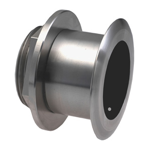 Stainless Steel Thru-hull Mount Transducer with Depth & Temperature (0° tilt) - Airmar SS164