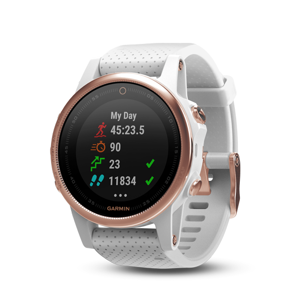 fēnix 5S | Wearables | Products | Garmin | Singapore | Home