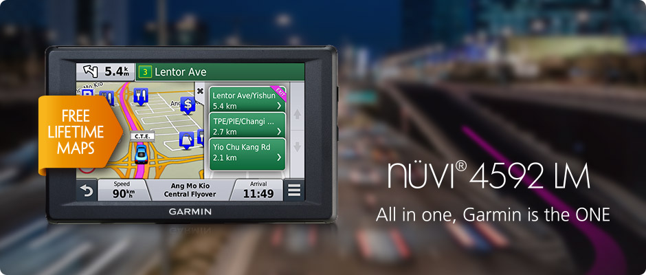 Garmin Nuvi Update >> Nuvi 4592lm Sg My Discontinued Products Garmin Singapore Home