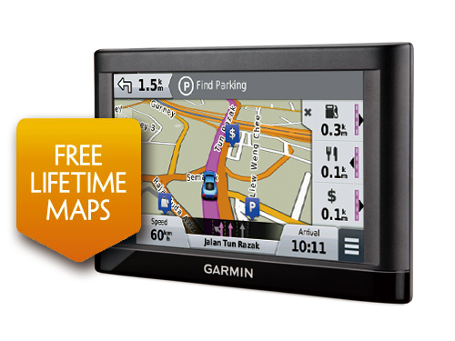 Nuvi LM SGMY Discontinued Products Garmin Singapore Home - Garmin map indonesia us