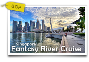 Fantasy River Cruise - Singapore-Historical Sights and Modern Wonders on Riverside