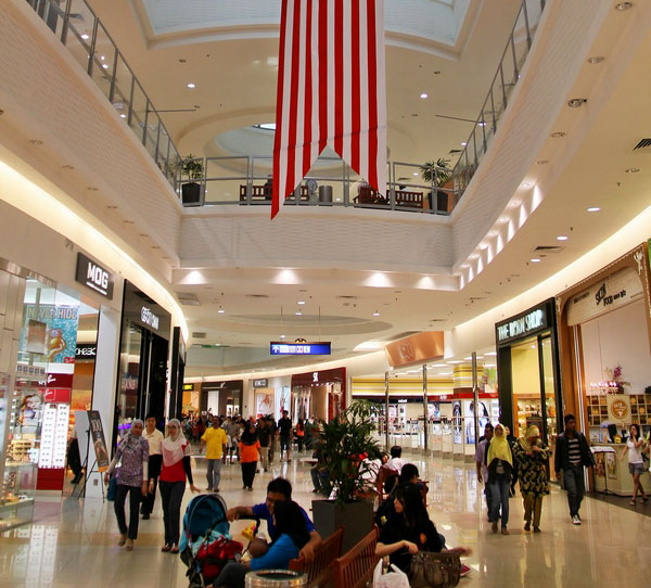 the largest aeon jusco shopping mall in malaysia Jusco to rebrand itself as aeon  modernise the retailing industry in malaysia the 'jusco  station 18 shopping centre, which was the largest mall in.