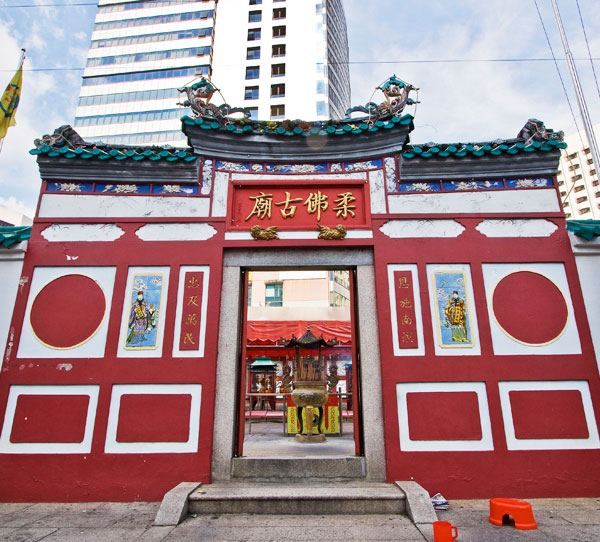 Nostalgic chinese old temple travel itinerary garmin for Chinese furniture johor bahru